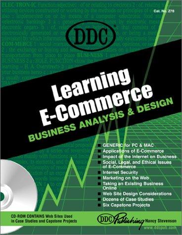 Learning E-Commerce : Business Analysis and Design: Nancy Stevenson