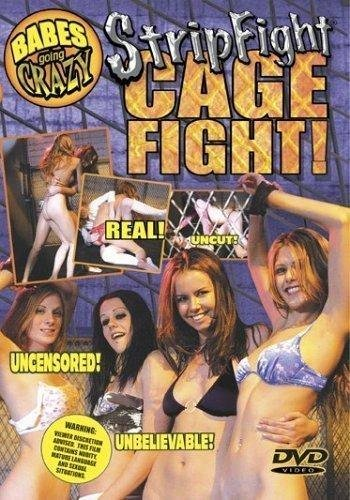 9781585803668: Babes Going Crazy: Strip Fight Cage Fight! [VHS]