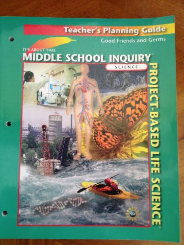 Middle School Inquiry Project-Based Life Science Good Friends and Germs Teacher's Planning ...