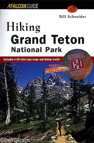 9781585920464: Hiking Grand Teton National Park (CD-ROM ed): Special CD Edition