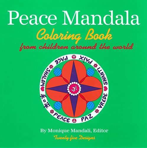 9781585920617: Peace Mandala Coloring Book