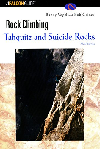9781585920877: Rock Climbing Tahquitz and Suicide Rocks, 3rd