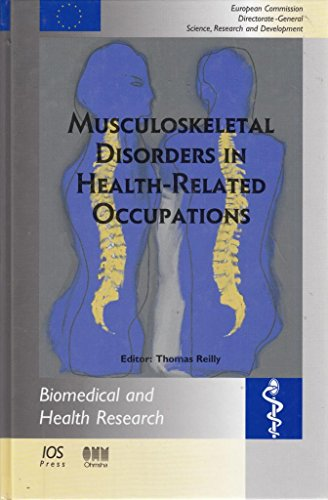 9781586032081: Musculoskeletal Disorders in Health-Related Occupations (Biomedical and Health Research, 49)