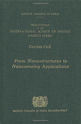 9781586035273: From Nanostructures to Nanosensing Applications (International School of Physics Enrico Fermi)