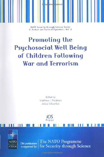 Promoting the Psychosocial Well Being of Children: A. Mikus-Kos M.J.