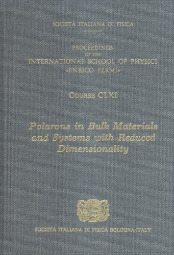 9781586036096: Polarons in Bulk Materials and Systems with Reduced Dimensionality