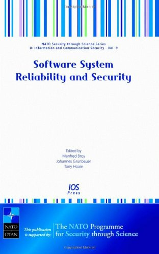 9781586037314: Software Systems Reliability and Security
