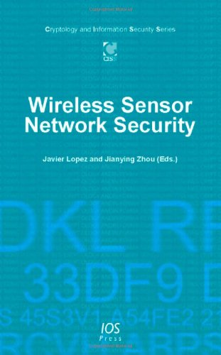 9781586038137: Wireless Sensor Network Security (Cryptology and Information Security)
