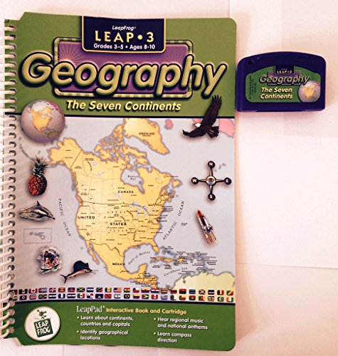 9781586050337: Geography : The Seven Continents (Above & Beyond Series - Quantum Pad Leap)