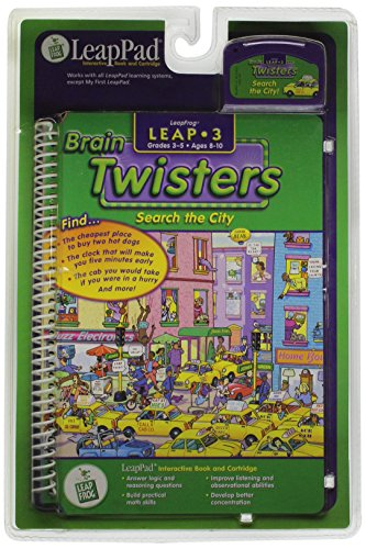9781586050672: Search the City: Brain Twisters (Leap 3)
