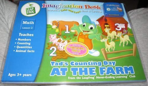 9781586050962: Tad's Counting Day on the Farm Math Lesson 2 Color & Learn Book & Cartridge