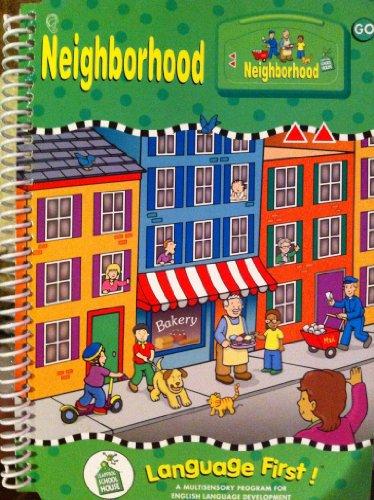 9781586056902: NEIGHBORHOOD. LeapFrog School House. Level 2, Grades PreK-2. Book with Cartridge (Language First! A Multisensory Program for English Language Development)