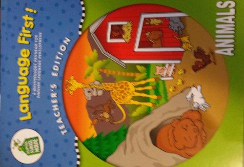 9781586057145: Language First Teachers Edition Animals (A Multisensory Program for English Language Development)