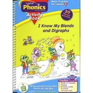 I Know My Blends and Diagraphs Activity: Leap Frog Enterprises,