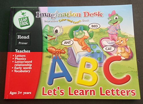 9781586058197: Let's Learn Letters (Imagination Desk Interactive Color-and-Learn Book)