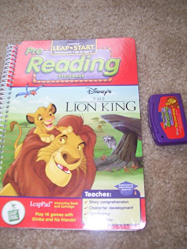 """Leappad Interactive Book and Cartridge """"The Lion: Disney"""
