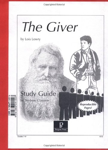 9781586091507: The Giver Study Guide