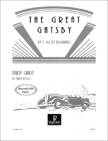 9781586091675: The Great Gatsby Study Guide