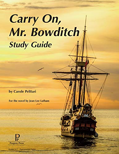 9781586093341: Carry On, Mr. Bowditch Study Guide
