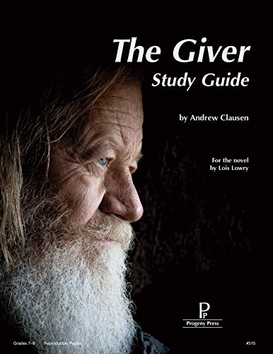 9781586093358: The Giver Study Guide