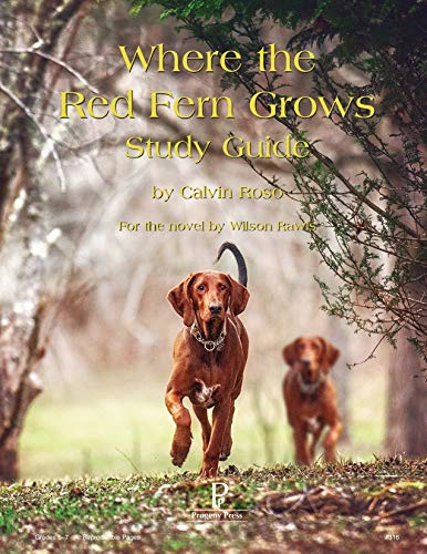 9781586093556: Where the Red Fern Grows Study Guide