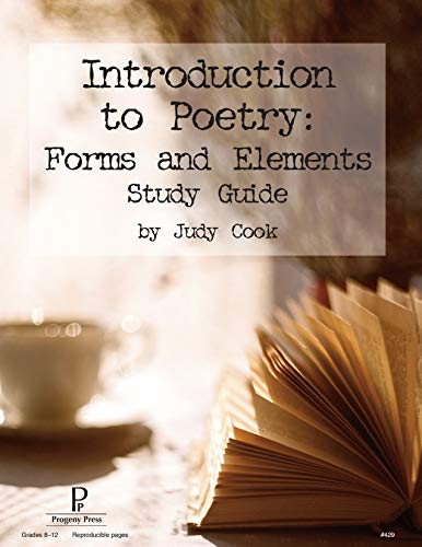 9781586093679: Introduction to Poetry: Forms and Elements Study Guide