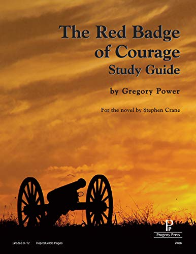 9781586093792: The Red Badge of Courage Study Guide