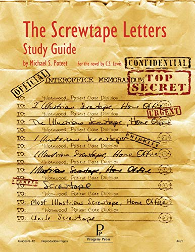 The Screwtape Letters Study Guide: Poteet, Michael S.