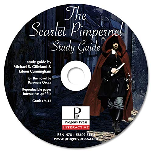9781586095222: The Scarlet Pimpernel Study Guide CD-ROM