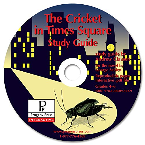 9781586095529: The Cricket in Times Square Study Guide CD-ROM