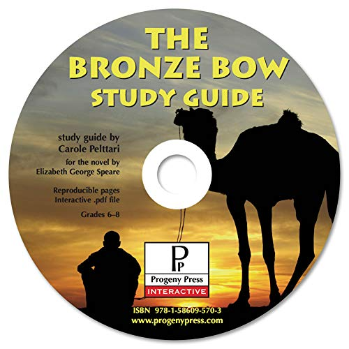 9781586095703: The Bronze Bow Study Guide CD-ROM