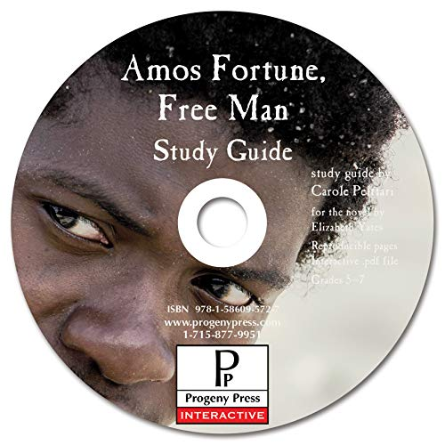 9781586095727: Amos Fortune Free Man Study Guide CD-ROM