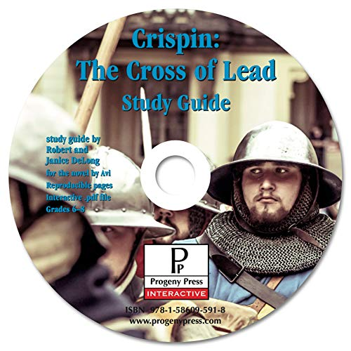 9781586095918: Crispin: The Cross of Lead Study Guide CD-ROM