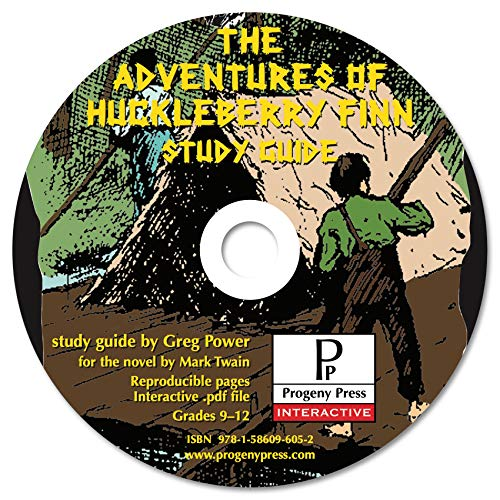 9781586096052: The Adventures of Huckleberry Finn Study Guide CD-ROM