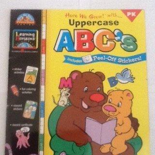 9781586100018: ABC's Uppercase (Here We Grow! Preschool)