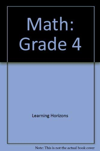 Math: Grade 4 (Math Skill Builders (Learning: Unknown