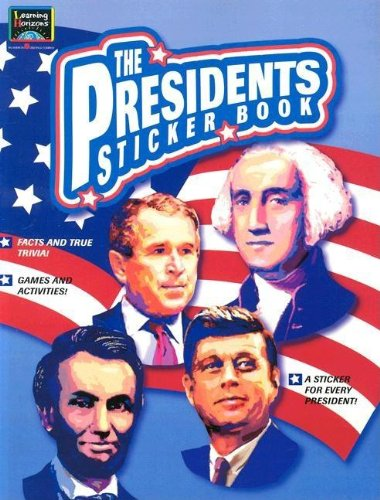 The Presidents Sticker Book Paperback