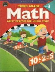 9781586107444: Math, Grade 3 (Skill Builder Workbooks)