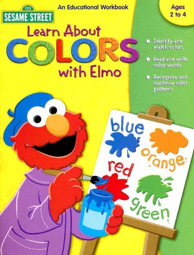 9781586109097: Learn About Colors With Elmo (Sesame Street)