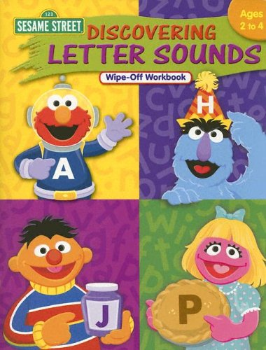 Sesame Street Discovering Letter Sounds Wipe-off Workbook: Learning Horizons