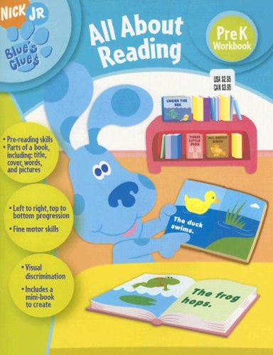 9781586109912: Blue's Clues All about Reading: Pre K Workbook (Blue's Clues (Learning Horizons))