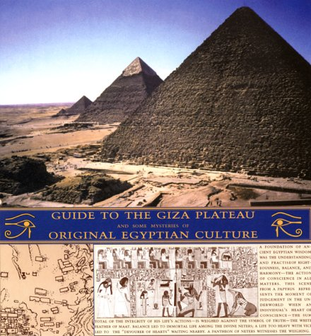 9781586110574: Guide to the Giza Plateau