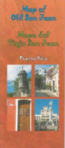 9781586111533: Old San Juan (Puerto Rico) Map (English and Spanish Edition)