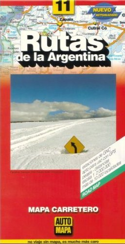 9781586112882: Argentina Road Map by AutoMapa (Spanish Edition)