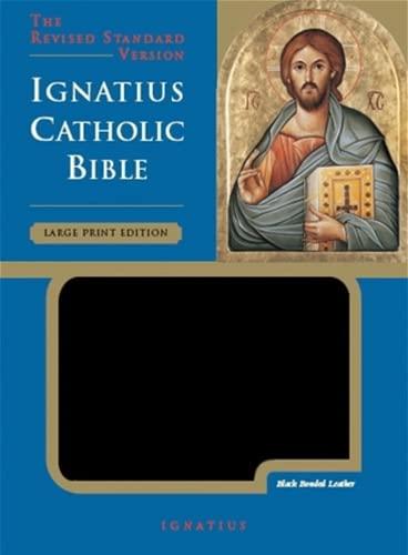 Holy Bible: Revised Standard Version (Ignatius Catholic