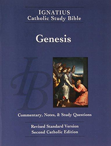 9781586174330: Ignatius Catholic Study Bible: Book of Genesis