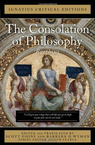 9781586174378: The Consolation of Philosophy: Ignatius Critical Editions