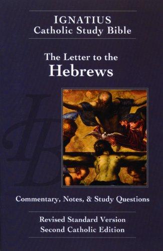 9781586174682: Ignatius Catholic Study Bible: Hebrews