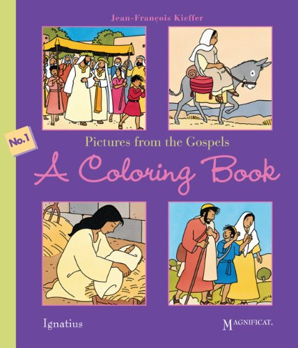 Pictures from the Gospels, A Coloring Book: Jean-Francois Kieffer