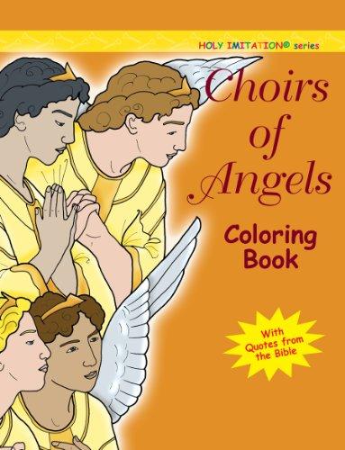 Choirs of Angels Coloring Book (Holy Imitation): Katherine Sotnik